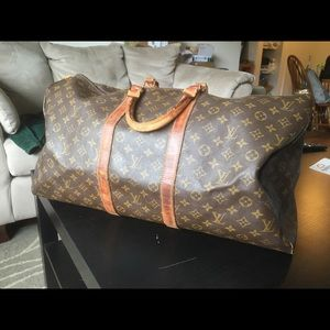 Louis Vuitton Keepall 55 duffle